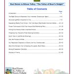 Table of Contents, Mary Pope-Handy, Killer Pre-Listing Presentation