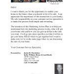 Justin Oberholtzer, Welcome Letter, Killer Pre-Listing Presentation