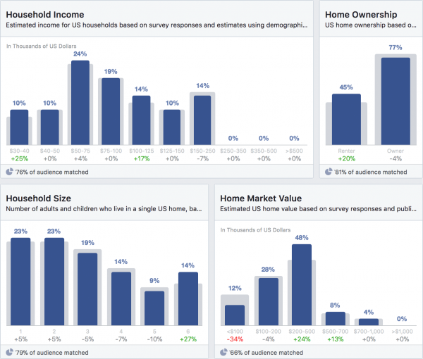 Social Media Audit, Audience Insights
