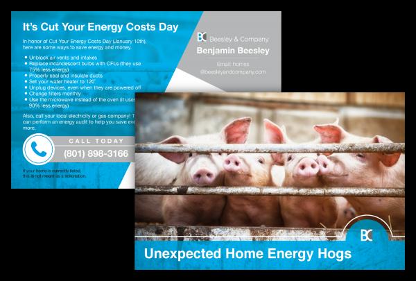 Mortgage Marketing Ideas, Postcards